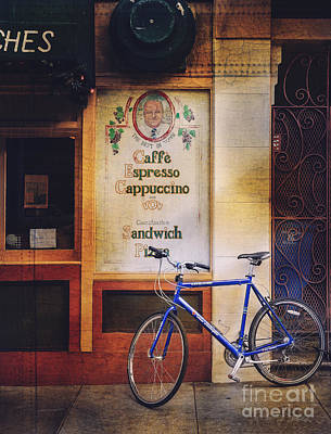 Caffe Expresso Bicycle Poster by Craig J Satterlee