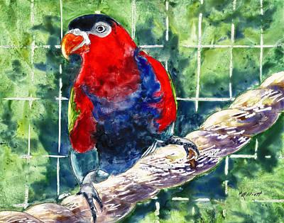 Caged Poster by Marsha Elliott