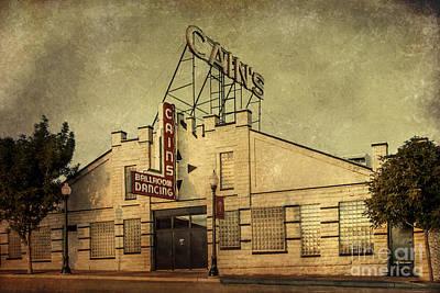 Cain's Ballroom Poster by Tamyra Ayles