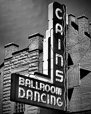 Cains Monochrome Poster