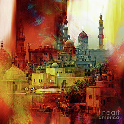 Cairo Egypt Art 01 Poster by Gull G