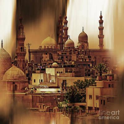 Cairo Egypt Art 03 Poster by Gull G