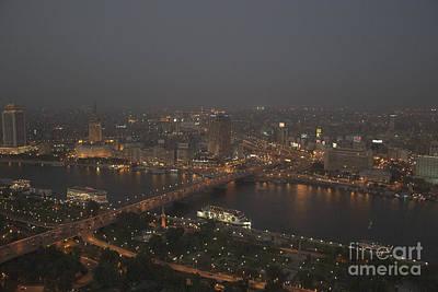 Cairo Smog Poster by Darcy Michaelchuk