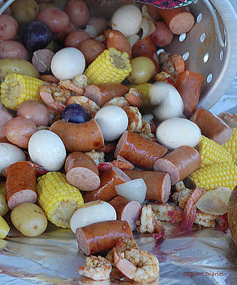 Cajun Cornucopia Poster by DigiArt Diaries by Vicky B Fuller