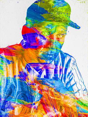Cal Ripken Jr Digital Painting 2 Poster by David Haskett