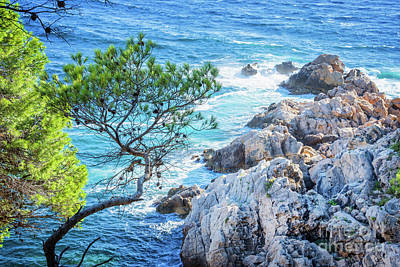 Calanque Poster by Delphimages Photo Creations