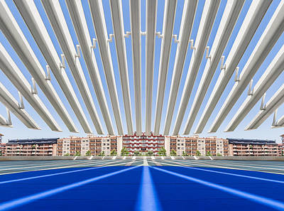 Calatrava Congress Centre / Oviedo Poster by Herbert A. Franke