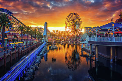 Calfornia Sunset Poster