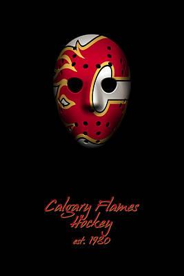 Calgary Flames Established Poster by Joe Hamilton