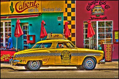 Caliente Cab Co Poster