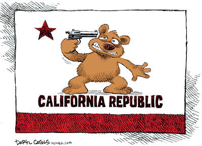 California Budget Suicide Poster
