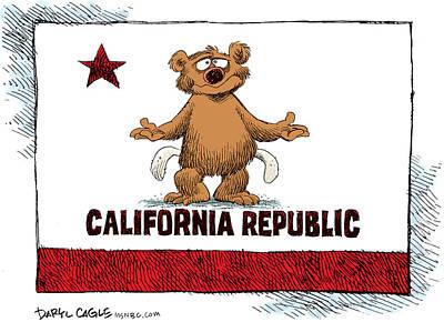 California Empty Pockets Poster
