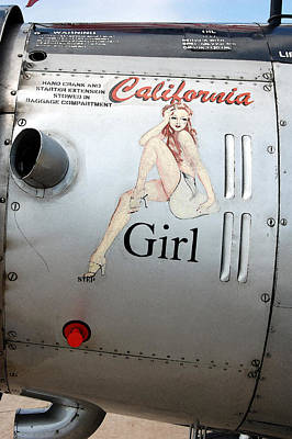 California Girl Poster by Jame Hayes