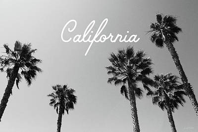 California Palm Trees By Linda Woods Poster