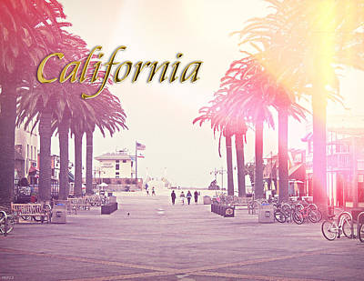 California Poster by Phil Perkins