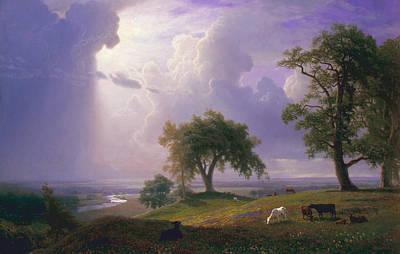 California Spring Poster by Albert Bierstadt