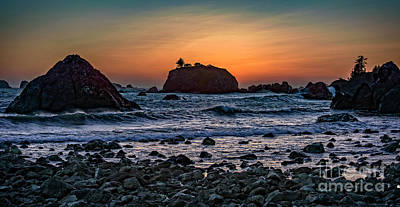California Sunset Poster by Charles Dobbs