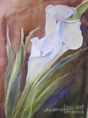 Calla Lillies Poster by Sandra Strohschein