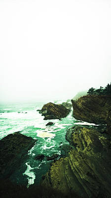 Poster featuring the photograph Calm Before The Wave by Pacific Northwest Imagery
