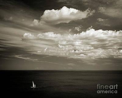 Calm Seas Poster by Edmund Nagele