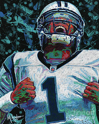 Cam Newton Poster