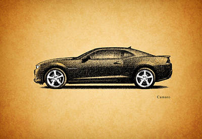 Camaro Poster by Mark Rogan