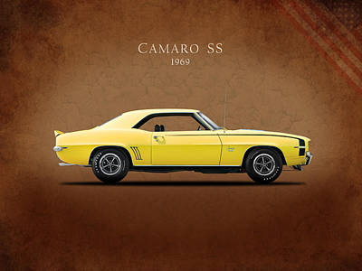 Camaro Ss 396 Poster by Mark Rogan