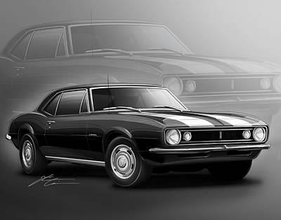Camaro Z28 1967 Poster