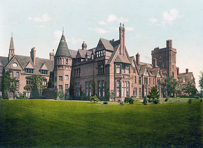 Cambridge - England - Girton College Poster
