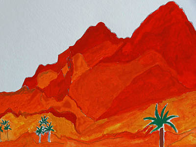 Camelback Mountain  Poster by Nicholas Vitale