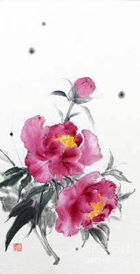 Camellia / Tsubaki Poster