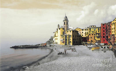 Camogli Italy Poster