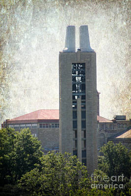 Campanile Poster by Amy Steeples