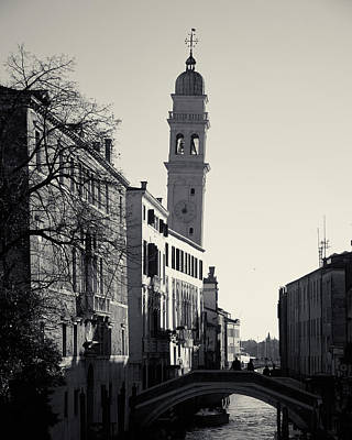 Campanile, San Giorgio Dei Greci, Venice, Italy Poster