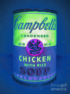 Campbells Condensed Chicken With Rice Soup 20160211clr Poster by Wingsdomain Art and Photography