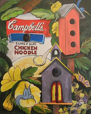 Campbell's Soup Can Recycle Poster by Brenda Wooldridge