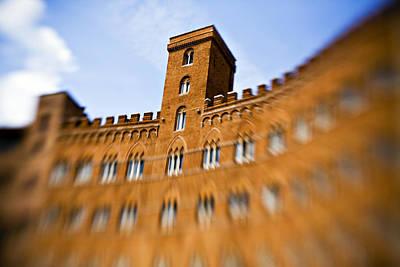 Campo Of Siena Tuscany Italy Poster
