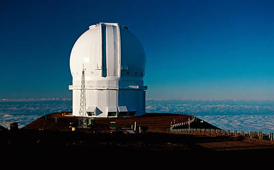 Canada France Hawaii Telescope 2 Poster by Gary Cloud