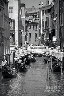 Canal In Venice Poster by Svetlana Sewell