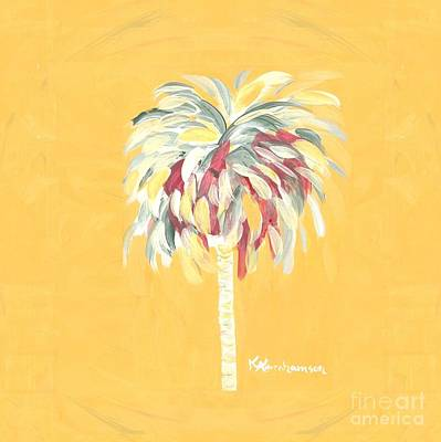 Canary Palm Tree Poster