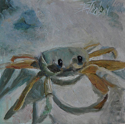 Poster featuring the painting Cancer's Are Not Crabby by Billie Colson