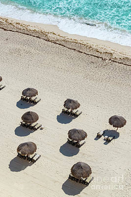 Cancun Beach View Poster