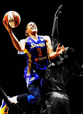 Candace Parker Poster by Brian Reaves