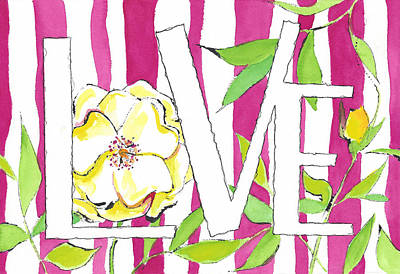 Candied Love Poster by Faith Teel