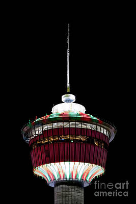 Poster featuring the photograph Candy Cane Tower by Brad Allen Fine Art
