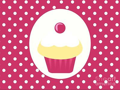 Candy Cupcake  Poster