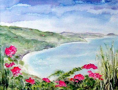 Cane Garden Bay Poster