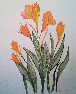 Cannas Poster by Susan Nielsen