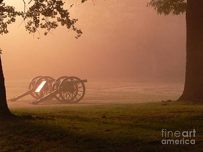 Cannons In The Fog Poster