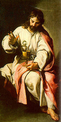 Cano Alonso St John The Evangelist With The Poisoned Cup Poster by Alonso Cano